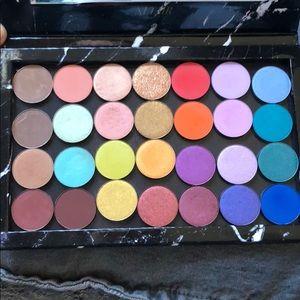 ColourPop Single Eyeshadows (27)  in Z Palette
